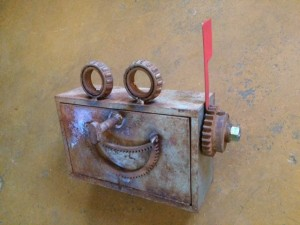 robot mailbox